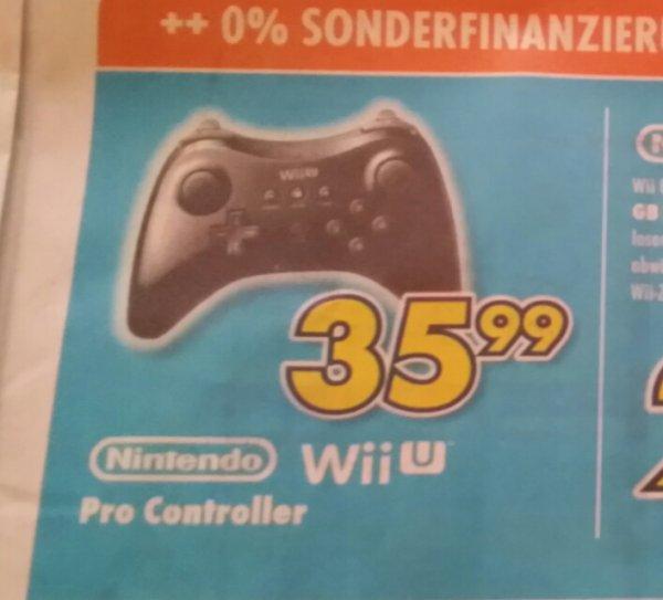 [Lokal Lüdinghausen Euronics] WiiU Pro Controller 35,99