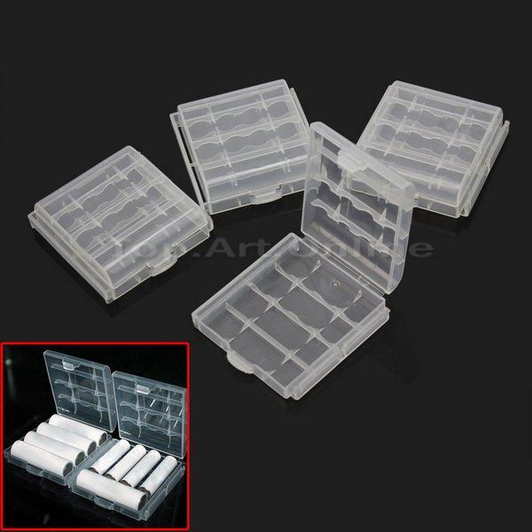 [ebay.de] 4 Batterieboxen für eure Eneloops etc. für 1 € (AA und AAA)