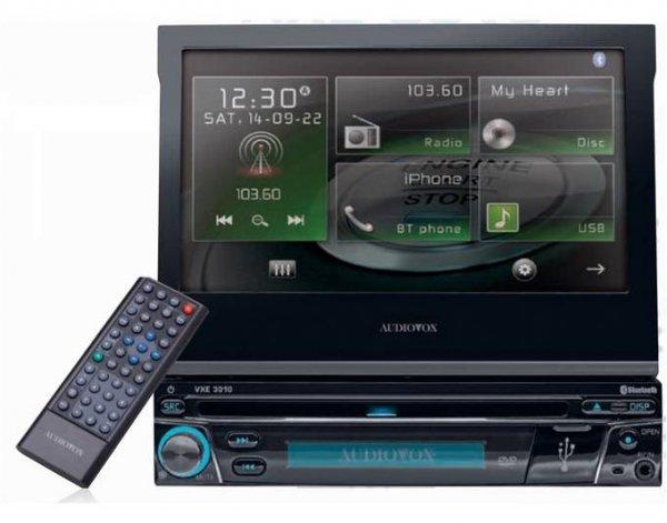 [Technik Profis] Audiovox VXE 3010 DVD-Autoradio