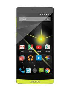 Archos 50 Diamond (gelb) LTE DUAL SIM - FULL HD - 2GB RAM - Amazon FR WHD
