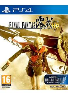 Final Fantasy Type-0 HD (PS4) inkl. Vsk für ca. 15,45 € > [base.com]