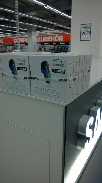 Saturn Paderborn: Alter Chromecast für 15 Euro