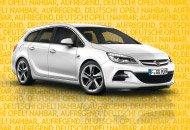Udate Leasing für Privat Opel Astra J Kombi 99 €/Monat ohne Anzahlung  36 Monate