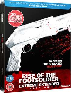 (zavvi.de)  Blu-Ray Rise of the Footsoldier - Limited Extreme Extended Steelbook Edition