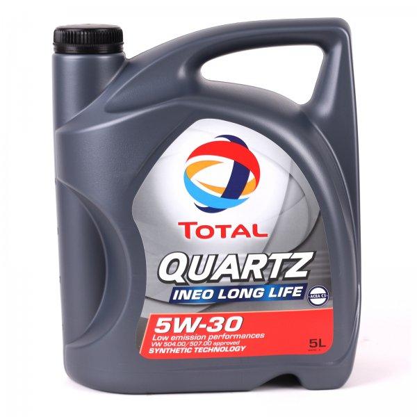 Total Quartz Ineo LongLife 5W30 5 Liter Motoröl 5W-30 VW 504 / 507