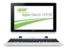 [Amazon] Acer Aspire Switch 10 FHD (SW5-012) 25,6 cm (10,1 Zoll) Convertible Notebook (Intel Atom Z3735F Quad-Core 1,3GHz, 2GB RAM, 32GB eMMC, Intel HD Grafik, Full-HD IPS Display, Win 8.1, Touchscreen) silber
