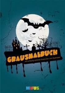 Kostenloses Malbuch zu Halloween bei MIFUS.de