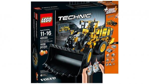 LEGO 42030 Technic VOLVO L350F Radlader zum Bestpreis (151,69€ + Qipu)
