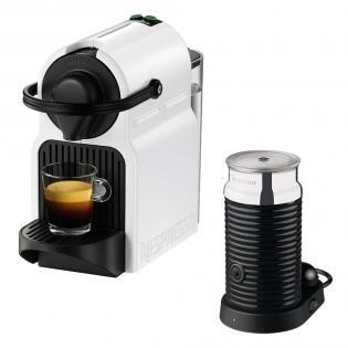 [Lokal Mediamarkt Köln-Kalk] Nespresso Kapselmaschine Weiß +Milchaufschäumer + 200 Kapseln
