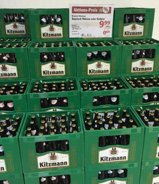 [Lokal Globus Forchheim] Kasten Kitzmann Rotbier oder Märzen für 9,99 €