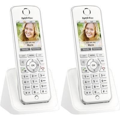[Conrad] FRITZ!Fon C4 DECT-Telefon, 2er Set für 100,90 €/106,85 €