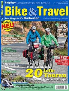 2 Ausgaben Bike&Travel + Trekking Magazin gratis