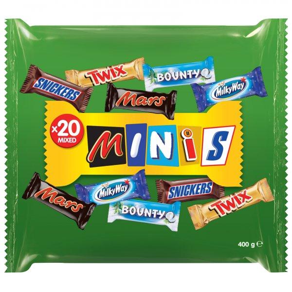 [Aldi Süd] Mars Mixed Minis (400g) Samstags Werbung