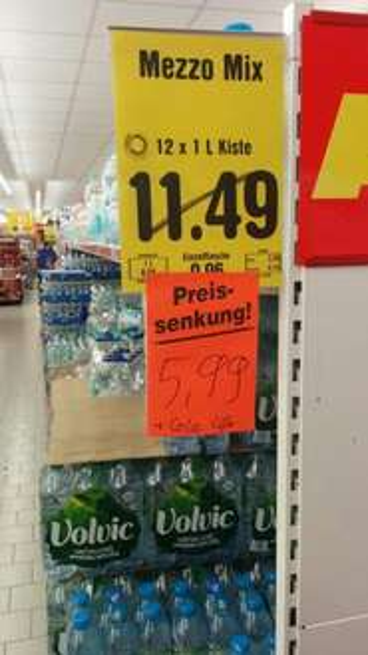 lokal netto Markendiscount viersen Mezzo Mix oder Cola life 5,99 Euro 12x1 liter Kasten