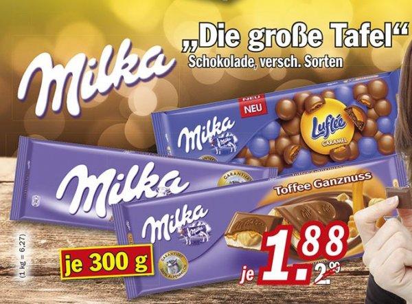 (Zimmermann) Milka 300g ab 02.11.2015 für nur 1,88 €
