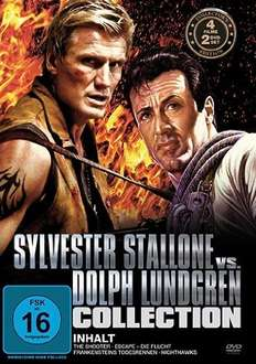 Amazon Prime : Sylvester Stallone vs. Dolph Lundgren Collection [2 DVDs] 4 Filme - Nur 2,97 €