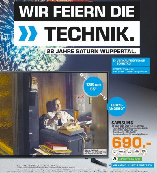 (Lokal) Saturn Wuppertal diverse TV Angebote !