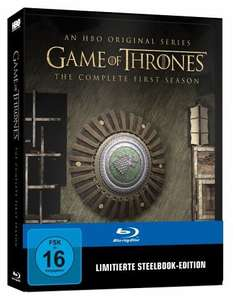 [buecher.de] Game of Thrones Staffel 1 und 2 Limit. Steelbook für je 26,99€
