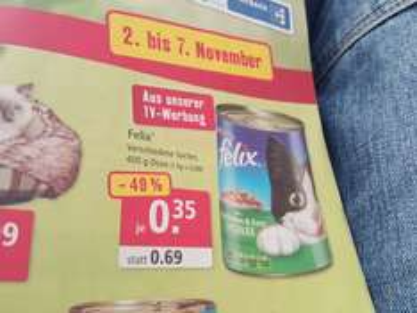 (Bundesweit )Fressnapf Essen Felix Katzenfutter