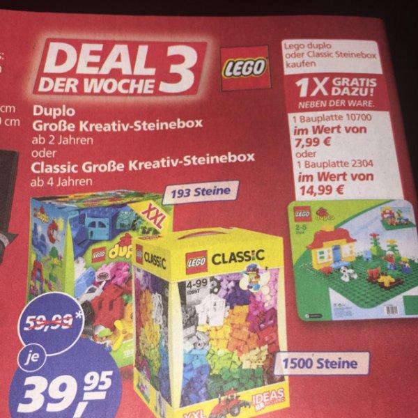 [Real] Lego Duplo XXL Steinebox inkl Bauplatte OWL