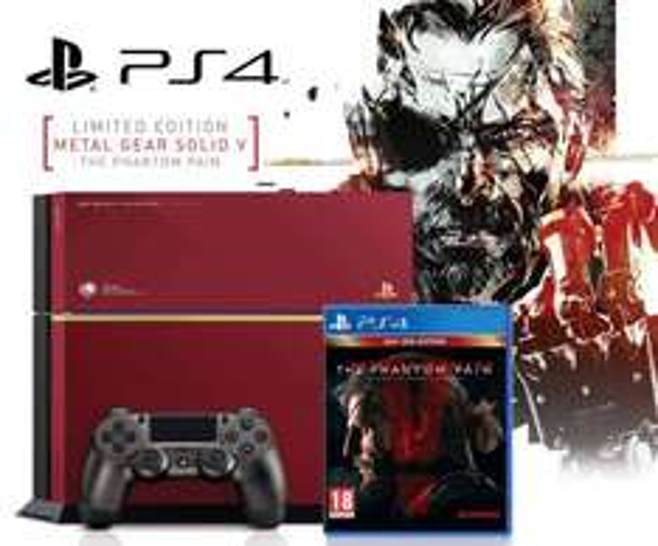 PlayStation 4 Limited Edition Bundle 500GB inkl. Metal Gear Solid V - The Phantom Pain CUH-1216 für 329€ [PVG:419€]