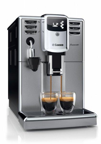 [Pro Light Media Service] Saeco HD8914/01 Incanto Kaffeevollautomat (Cappuccinatore) silber