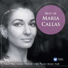 Amazon Prime : CD Maria Callas -Best of  - Nur 3,99 €