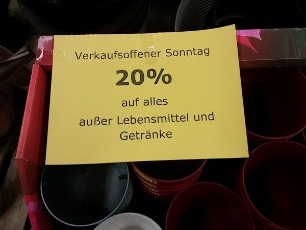 Nur heute 20% Thomas Philips Prisdorf  außer Lebensmittel