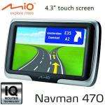 iBooD: Mio Spirit 470 GPS-Navigationsgerät mit 10,9cm Touchscreen