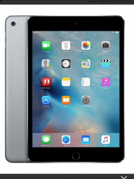iPad mini 4, 16 GB LTE/4G für 199 einmalig und 9,99 Euro monatlich im otelo Fantarif