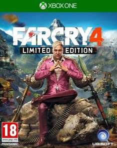 [Gameseek] Far Cry 4: Limited Edition (FSK 18 PEGI) für die Xbox One für 16,30€