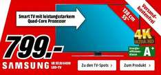 [Media Markt] SAMSUNG UE55JU6450U LED TV (Flat, 55 Zoll, UHD 4K, SMART TV) lokal + online 799 €