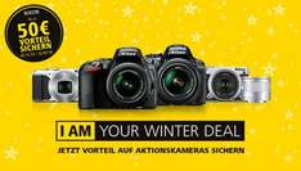 Nikon Winterdeal Cashback für  S9900 D5300 D5500 1J5