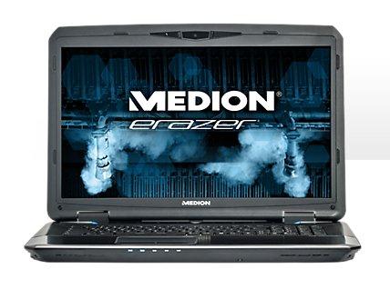 [Medion] MEDION® ERAZER® X7835 (MD 99122) Core i7-4710MQ, GTX 980M mit 4 GB GDDR5 Speicher,  512 GB SSD, 1.000 GB Festplatte mit 7.200 U/Min, 16 GB RAM, BD Laufwerk, Tastatur mit Hintergrundbeleuchtung, DHT  - High Definition Audio mit 2 Lautsprecher