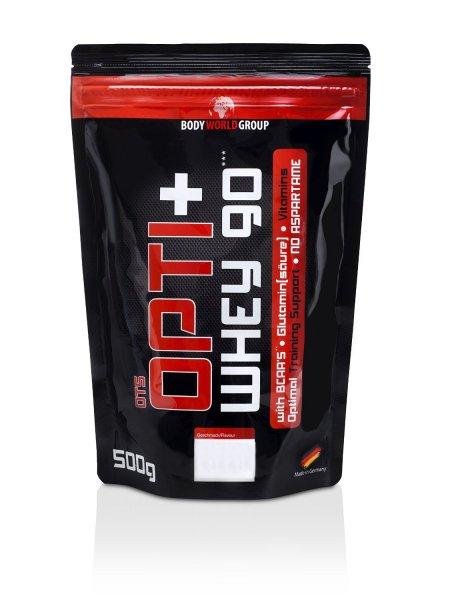 [AmazonDE] BodyWorldGroup Opti+ Whey 90, Muscle Line, Erdbeere, 500 g, 1er Pack (1 x 500 g)
