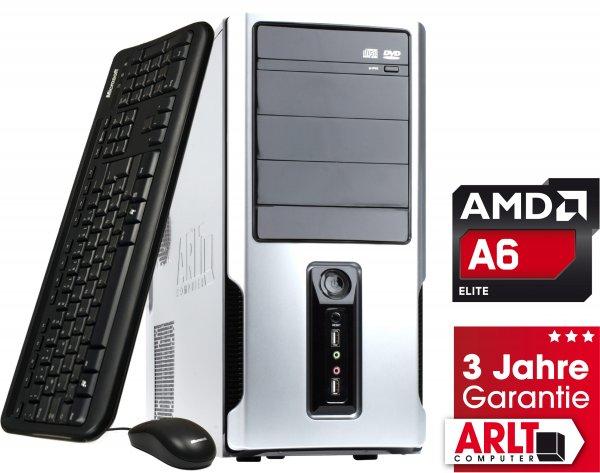 [Arlt] ARLT Mr. Whisper XIII AMD A6 A-Serie APU, 8GB RAM, 1000GB HDD, AMD Radeon R5 Serie, ohne Betriebssystem, 3 Jahre Garantie - nur bis 18.00 Uhr -