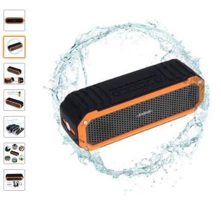 (Amazon) Andoer 10W Drahtloser Bluetooth 4.0 Lautsprecher Schutzart IP64