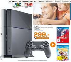 [LOKAL SATURN TRIER] PS4 - 500 GB inkl. Driveclub + Little Big Planet 3 für 299,- €