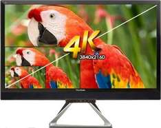 [ZackZack] View­So­nic VX2880ML 71,1 cm (28 Zoll) Mul­ti­me­dia LED Mo­ni­tor (4K, HDMI/MHL, Dis­play Port in/out, Mini Dis­play Port, 5ms Re­ak­ti­ons­zeit, Laut­spre­cher) schwarz für 299,-€ VSK Frei