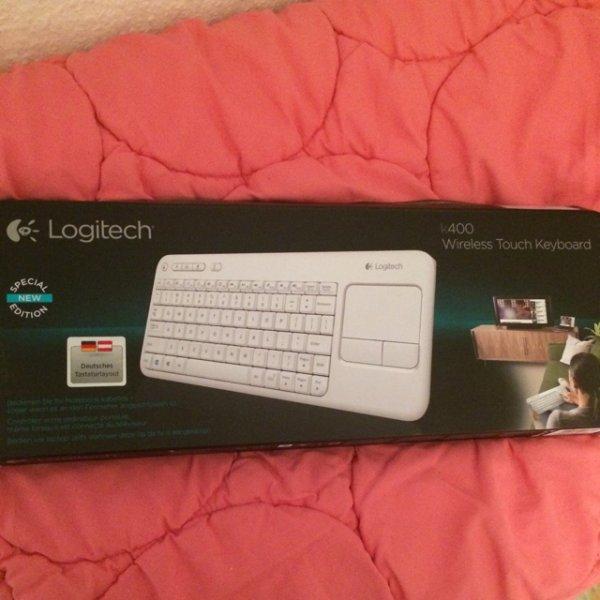 [Metro Würselen] kabellose Tastatur Logitech k400