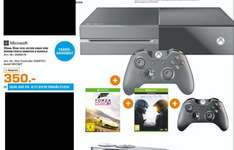 [Lokal Saturn Herford] Tagesangebot am 06.11...Xbox One 500 GB mit 2 Controllern + Forza Horizon 2 & Halo 5 für 350,-€