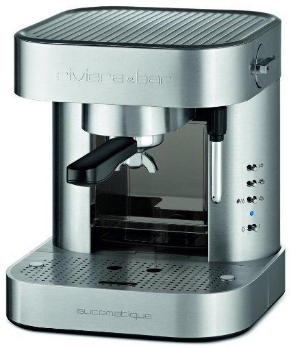 Gemischte Amazon-Warehouse-Deals: z.B. Riviera & Bar CE442A Espresso-Maschine, massiv Edelstahl, Grau für 115,69€