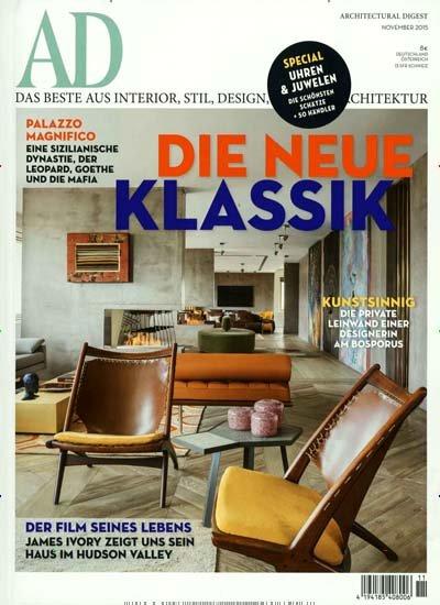 AD Architectural Digest - 10 Ausgaben der Zeitschrift für effektiv 3,00€ durch 65,00€ Amazon-Gutschein