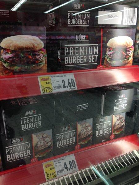 [Lokal??] Kaufland Dresden Weber Premium Burger und Grillbaguette bis 67% günstiger