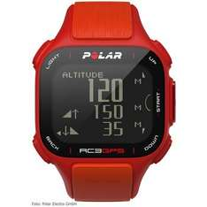 [Bike24] online + offline Polar RC3 GPS HR Trainingscomputer + Brustgurt - rot/orange 129,90€