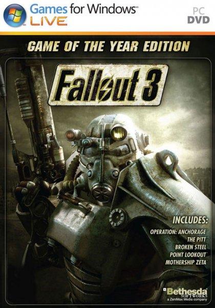 Fallout 3 GOTY  uncut Steam key 4,99€ , New Vegas Ultimate für 3,40€