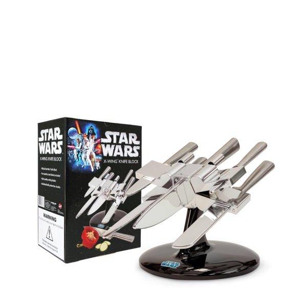 [@sowaswillichauch.de] X-Wing Messerblock mit 5 Messern  18,65% Ersparnis  - 6%qipu extra -  mit 20%Gutschein ab 85€ noch mehr Möglichkeiten siehe Kommentare