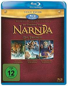 [Blu-ray][Amazon Prime][Saturn] Die Chroniken von Narnia - Trilogie 9,99€
