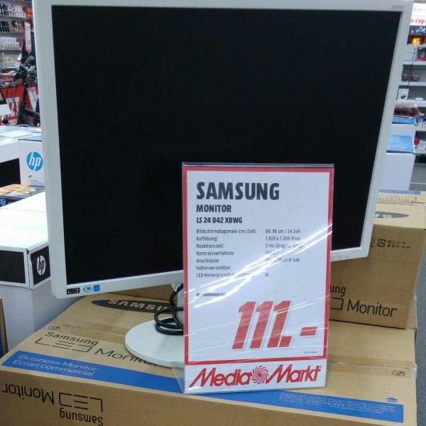 Samsung SyncMaster S24B420BW Monitor Media Markt Heidelberg 111 €