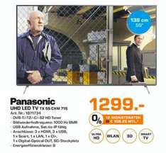 Saturn Oldenburg Panasonic UHD Led TV TX 55 CXM 715